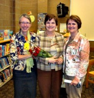 Jill Vigessa, Ginger Dietz, and Gail Bakko