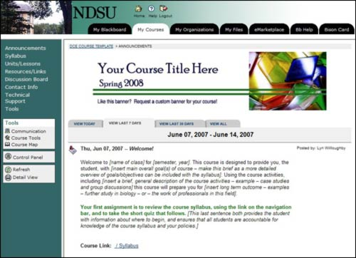 NDSU: Office of Teaching and Learning [OTL]
