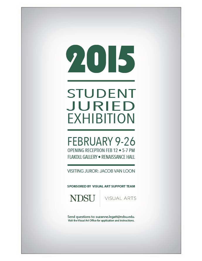 2015 Student Juried Exhibition