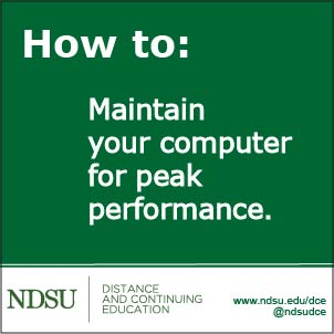 How to: Maintain your computer for peak performance