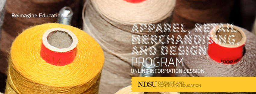 Apparel, Retail Merchandising and Design online degree Image